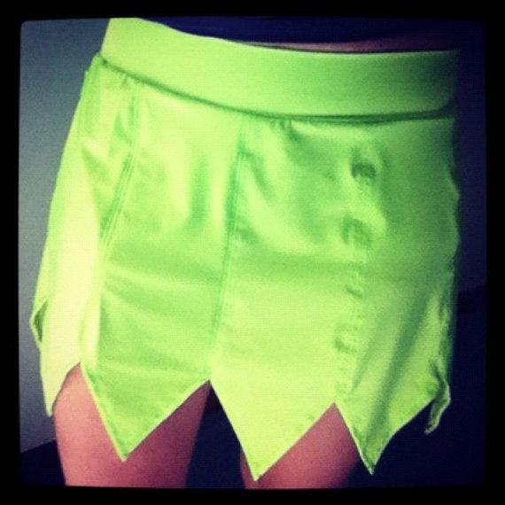 Tinker Bell inspired running skirt by ThisPrincessRuns on Etsy, $75.00  Ordered this for the Tink half Marathon.