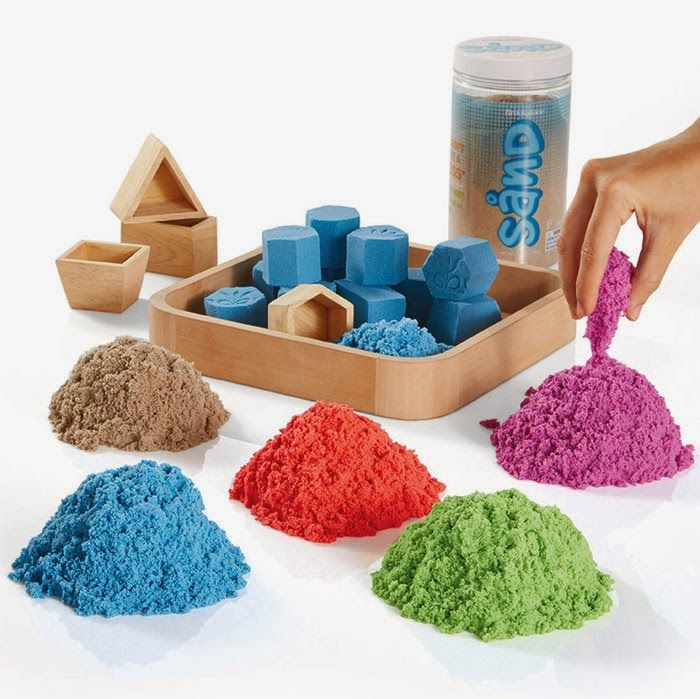 How would you like to built a sand castle in the comfort of your home? Manual, precise work and that kind of thought concetration which takes away any stress. And it's totally mess free!!