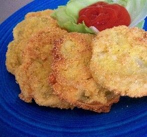 "Texas Green Fried Tomatoes: ""Hot dang! This is the one I been looking ..."