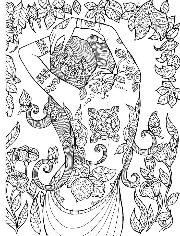 78 best images about coloring adults