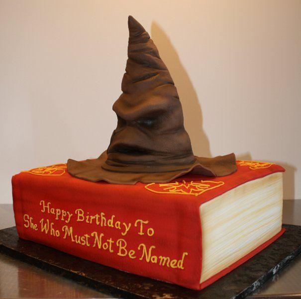 Harry Potter Sorting Hat Birthday Cake