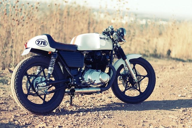 Suzuki GS450 Cafe Racer ~ Return of the Cafe Racers