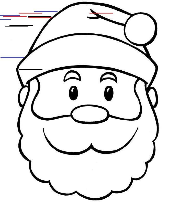 Print Santa Coloring Pages 001 Print Santa Coloring Pages 001 See The Category To Find Mo In 2020 Santa Coloring Pages Christmas Coloring Pages Printable Snowman Faces