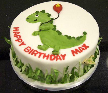 Homemade Dinosaur Cake Tartas De Cumplea 241 Os De