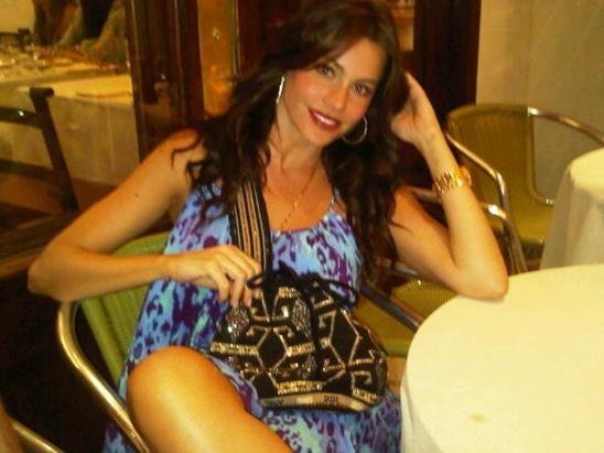 Sofía Vergara con mochila wayuu