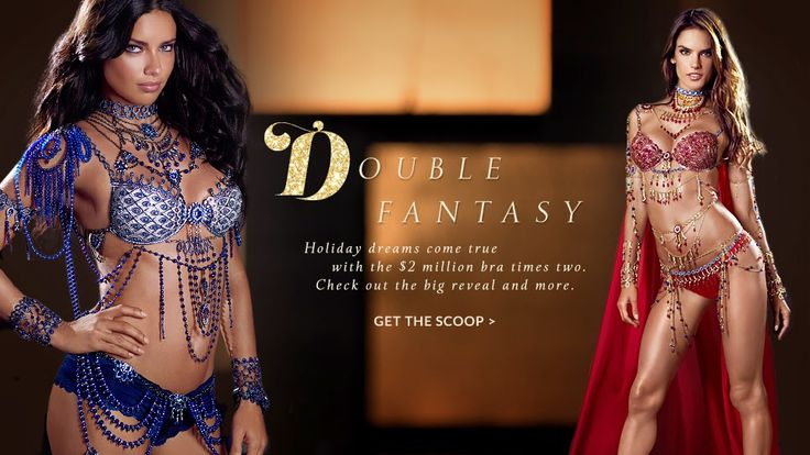 The Charm of Luxury: Double Fantasy Bra, Victoria's Secret Fashion Show...