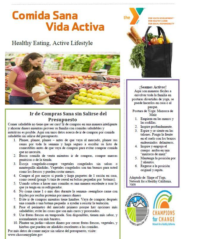 July Parent Newsletter p.1 in Spanish. For original copy email noora.mousa@ymcasv.org