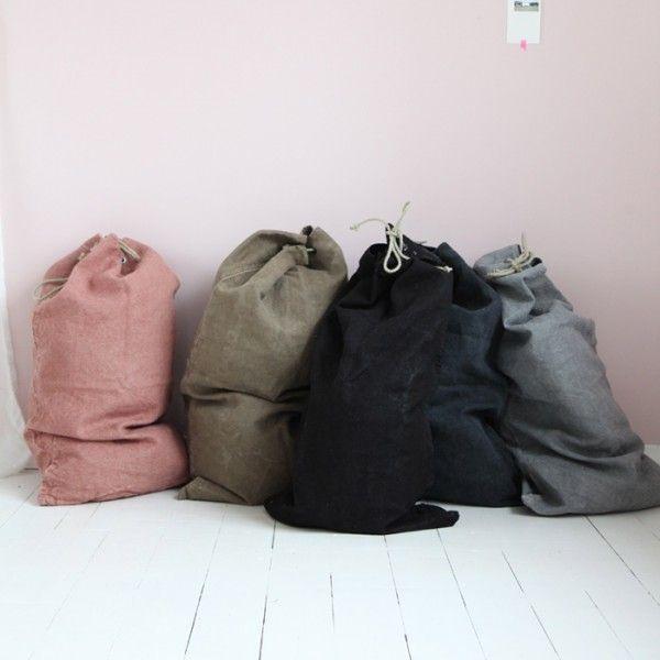 sac militaire teinté réutiliser de vieux rideaux?