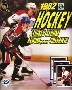1982 O-Pee-Chee Hockey Sticker Album
