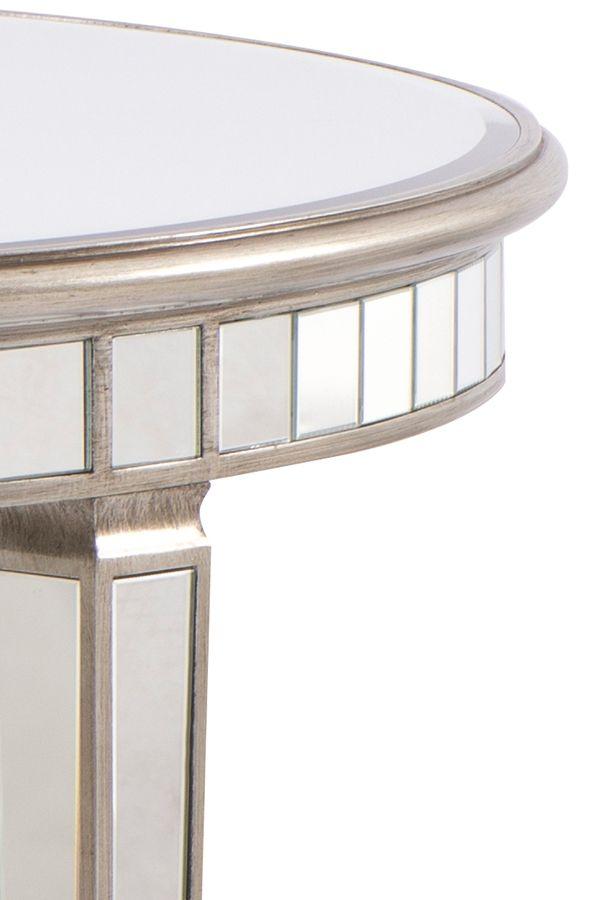 Antoinette Toughened Mirror Circular Dining Table Mirrored Dining Table My Furniture Circular Dining Table Dining Table Mirror Table
