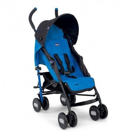 SILLA DE PASEO CHICCO ECHO: ligera y compacta, muy confortable para el niño y al mismo tiempo funcional para los papás.