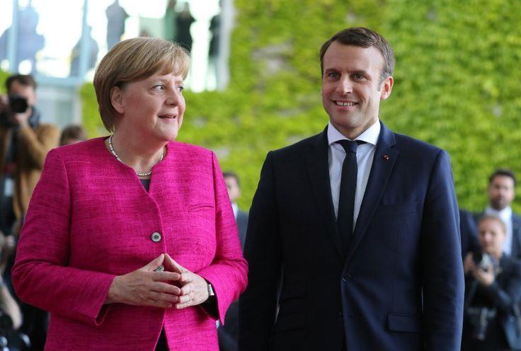 Frenemy in the Making? Merkel Views Macron with Skepticism and Hope - SPIEGEL ONLINE - International