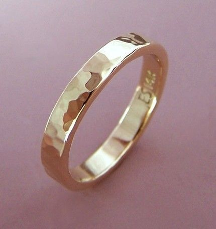 Yellow Gold wedding bands to go with my wedding ring