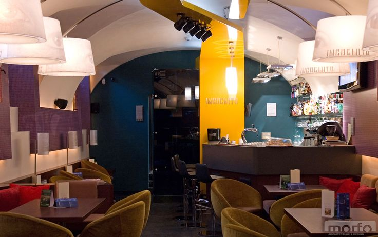 INCOGNITO café & bar, Szombathely, Hungary / interior design, 2009