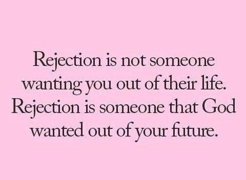 God does not want the person in your future... listen to Him.   He has something better for you.