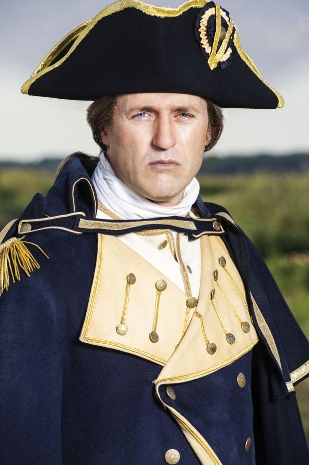 Jason O'Mara as General George Washington (Photo: Ollie Upton/HISTORY)