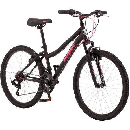 24 inch Mongoose Excursion Girls' Mountain Bike, Multicolor