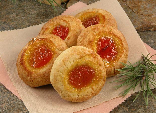 Орехово-фруктовое печенье