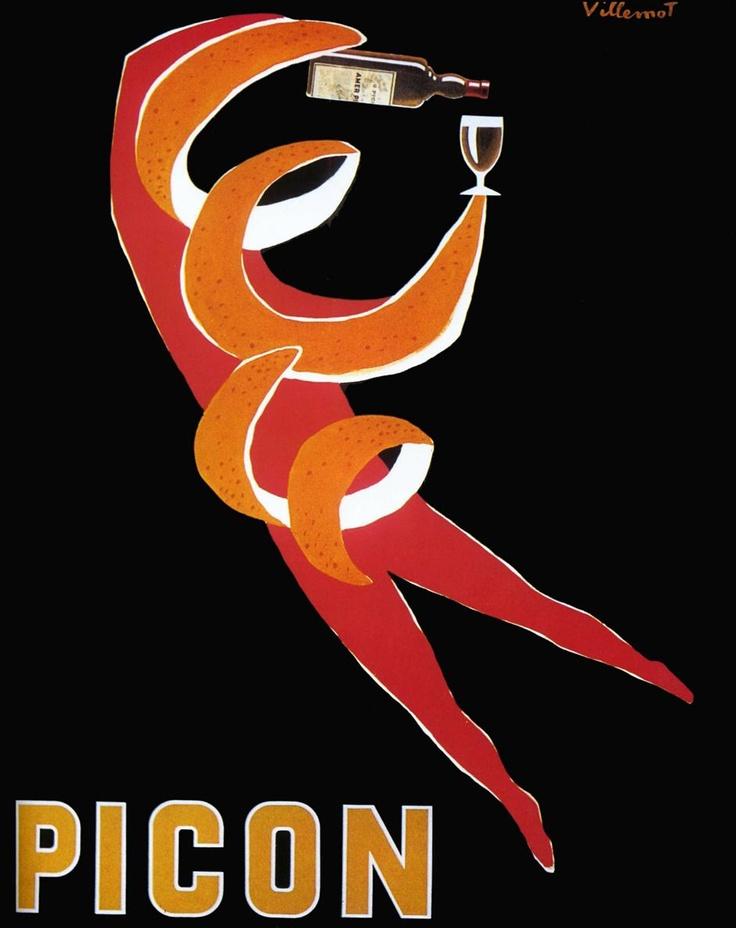 Villemot 1952 Picon | Vintage poster | https://www.facebook.com/events/187372061441358/?ref=notif_t=plan_edited