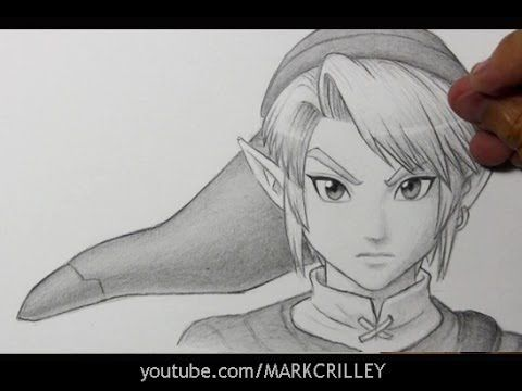 Drawing Time Lapse: Link from Legend of Zelda