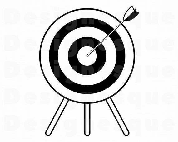 Archery 2 Svg Archery Svg Archery Target Svg Bullseye Svg Etsy In 2021 Archery Target Svg Archery