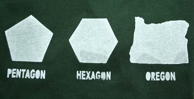 Pentagon Hexagon Oregon