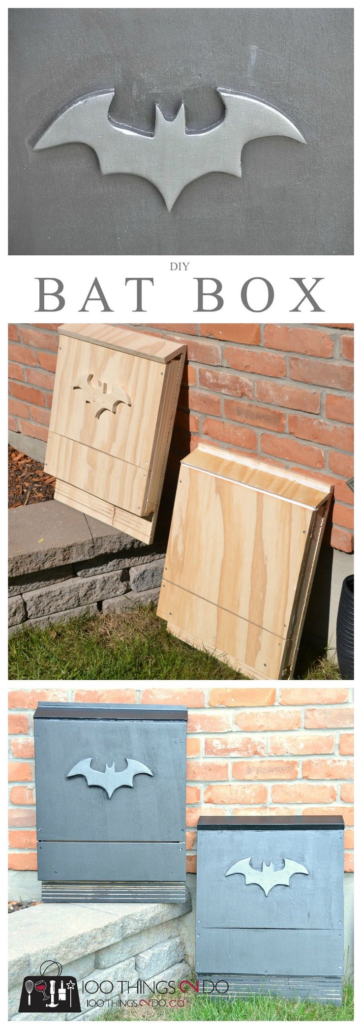 DIY bat box Bat house plans, Bat house diy, Bat box