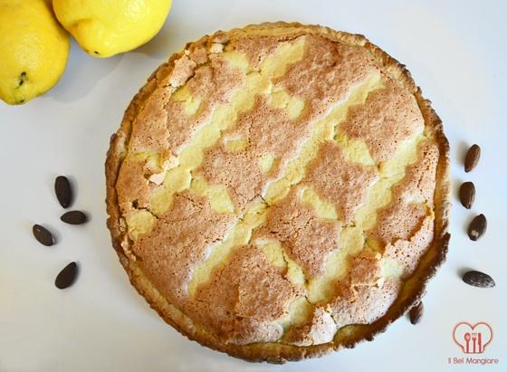La torta di Nonna Ernesta alle mandorle con profumo di limone e rum #ricette #dolci