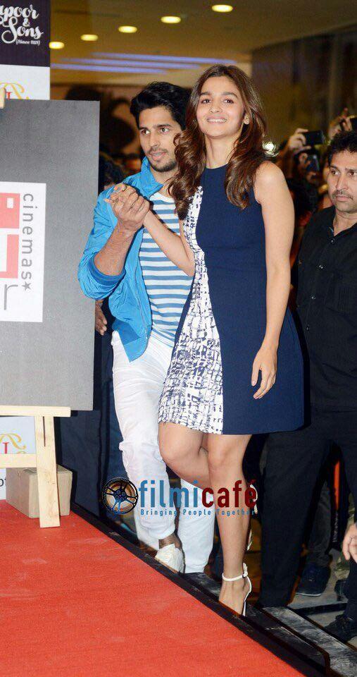 Alia and Siddharth...