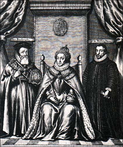 -Sir Francis Walsingham (c.1530-1590) [Queen Elizabeth's Spymaster]Queens Elizabeth