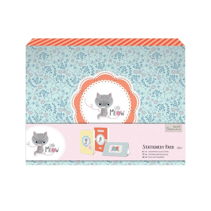 Stationery Pack - Little Meow