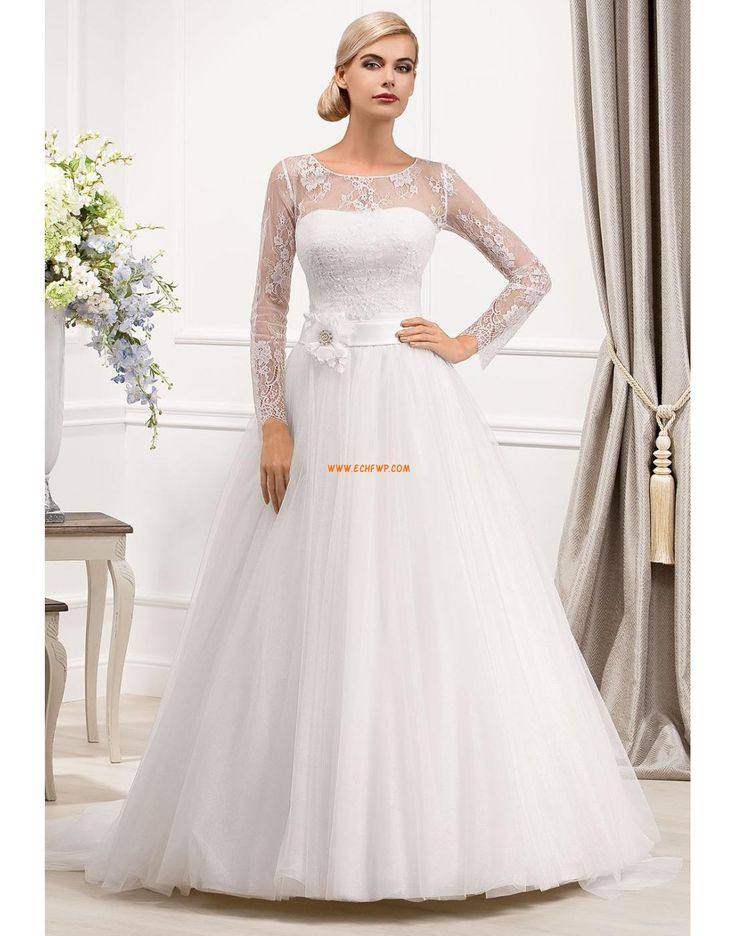 Elegantní & moderní Trička Empírové Svatební šaty 2014