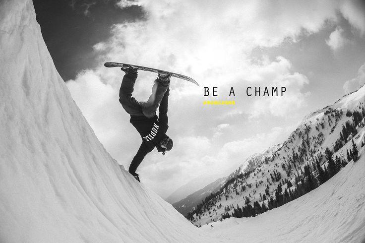 Be a Champ #nobile #nobilesnowboards #iridenobile #snowboarding #snow #snowboards