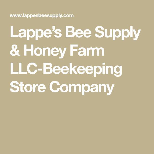 Lappe's Bee Supply & Honey Farm LLC-Beekeeping Store Company
