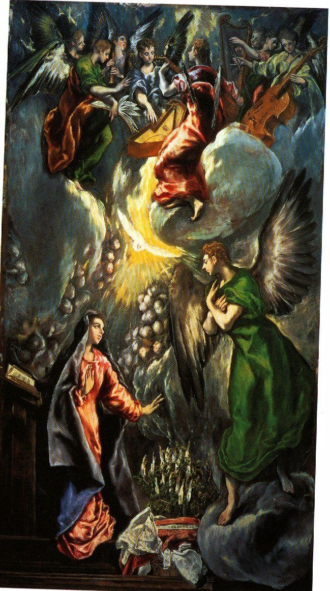 El Greco, oil on canvas, 1596-1600.