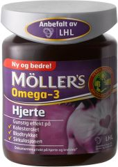 MÖLLER'S OMEGA-3 HJERTE fra Mollersdirekte. Om denne nettbutikken: http://nettbutikknytt.no/mollersdirekte/