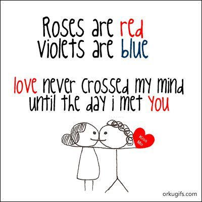 Cute Roses Are Red Violets Are Blue Poem For Valentine's Day Card Cool Love On Valentines Day Quotes