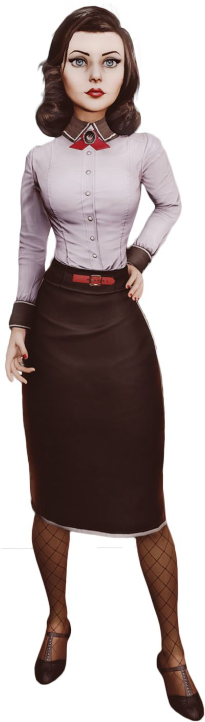 Bioshock Infinite - Elizabeth Render By Ashish913 by Ashish913 on deviantART