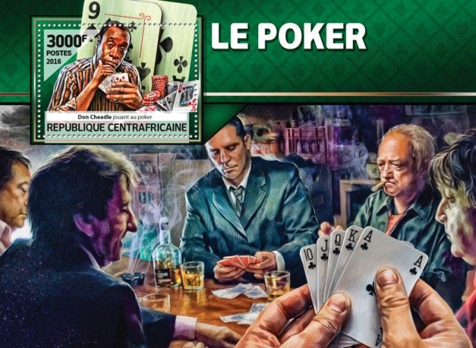 CA16511b Poker (Don Cheadle playing poker)