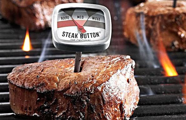 Steak Button Thermometer Set