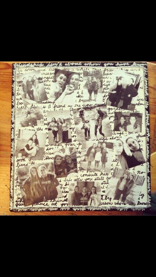 Bf diy gifts idea, photos, easy but meaningful. Perfect gifts for ypur best friend. Birthday gift