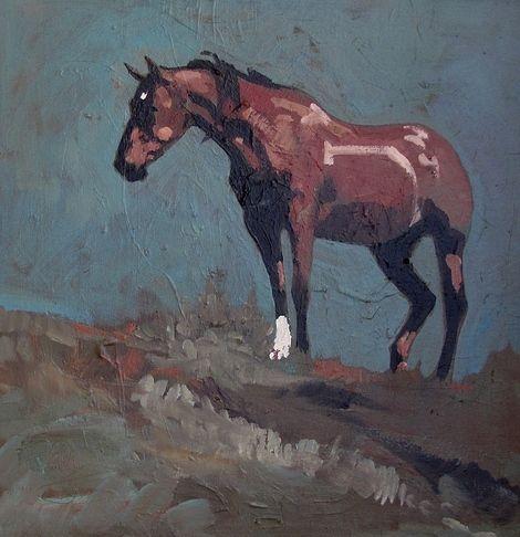 Peggy Judy, Sherry's Mare on ArtStack #peggy-judy #art