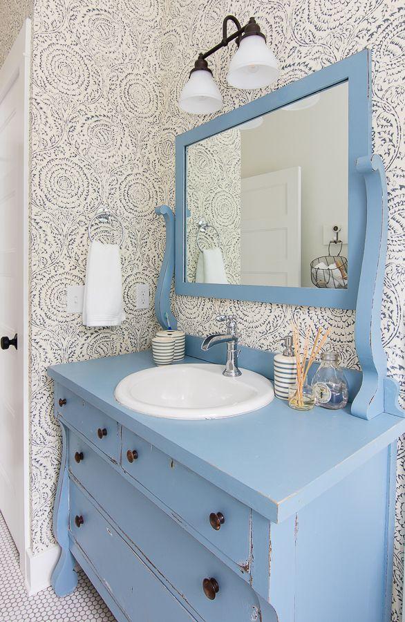 blue and white bathroom design  blue bathroom interior