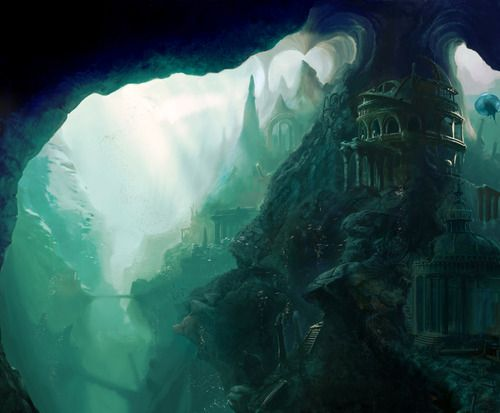 The Forgotten Atlantis by ~firedudewraith