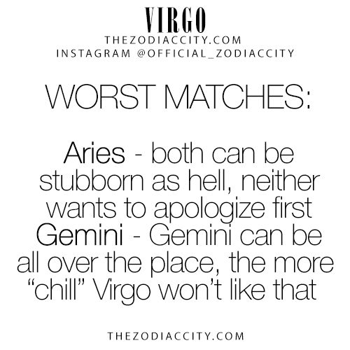 What signs are virgos compatible with