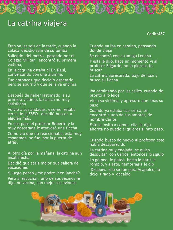 Calaveras Literarias Noviembre 2013 TIC's