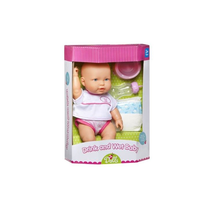 37cm Drink And Wet Baby generic Dolls 1402