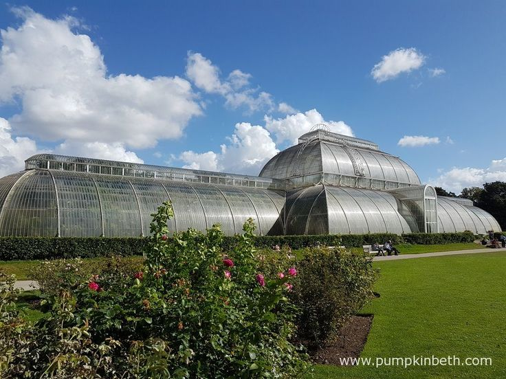 The Palm House at The Royal Botanic Gardens, Kew.