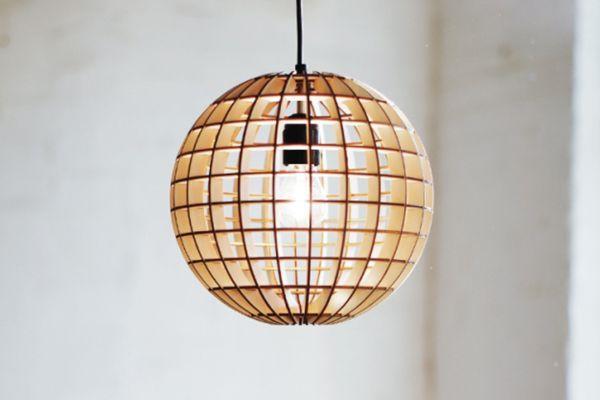 Деревянная люстра Hemmesphere