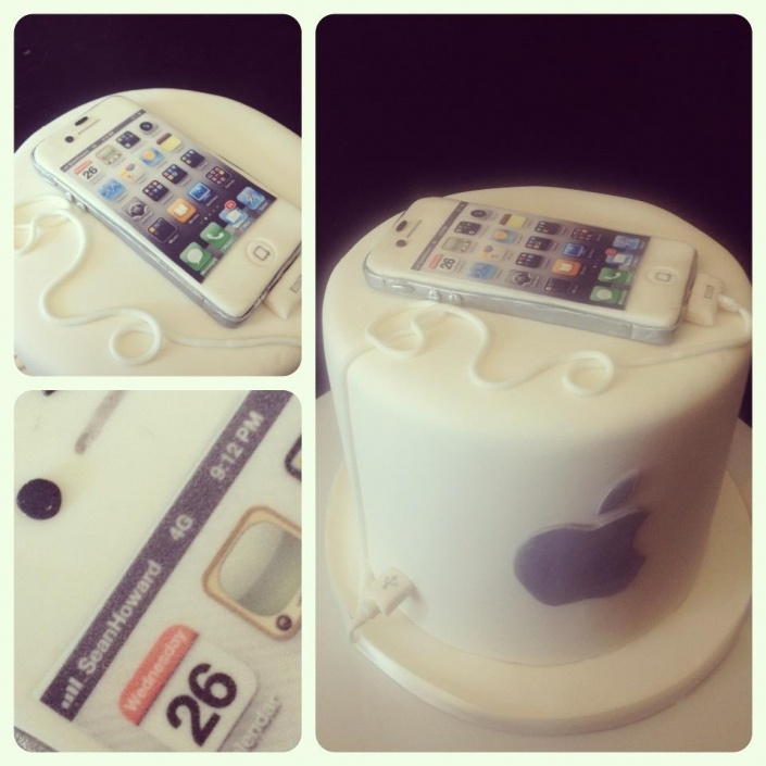 iphone cake! All sugar :)